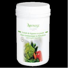 Klare Gemüsesuppe Pulverform Fettarm